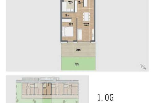 Ideal für Anleger! Provisionsfreie Neubauwohnung mit Terrasse in Graz St. Peter