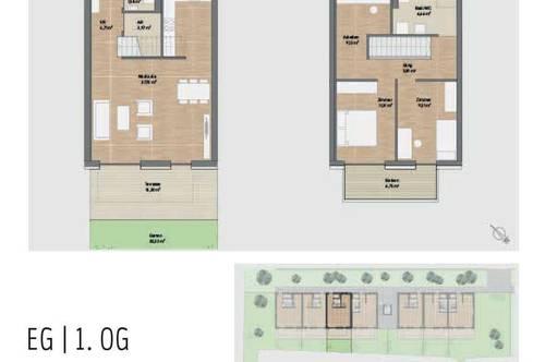 NEUBAU! Provisionsfreie Neubauwohnung mit Balkon, Terrasse und Garten in Graz St. Peter