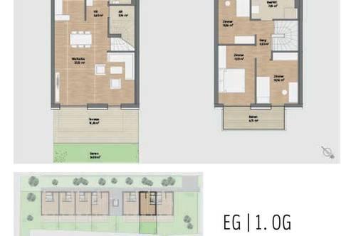 PROVISIONSFREI! Exklusive Neubauwohnung mit Balkon, Terrasse & Garten in Graz St. Peter