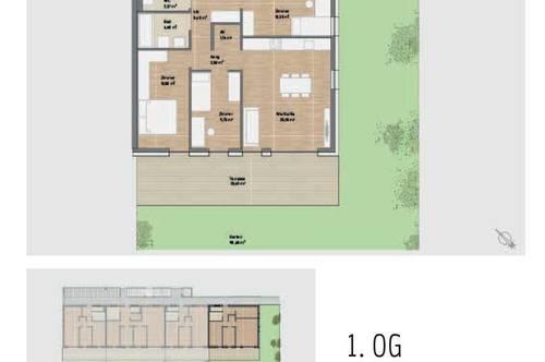 PROVISIONSFREI! Stilvolle Neubauwohnung mit Terrasse & Garten in Graz St. Peter