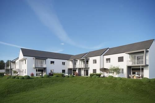 NEUBAU! Provisionsfreie 2-Zimmer-Eigentumswohnuhng mit Terrasse und Garten in Grafendorf b. Hartberg
