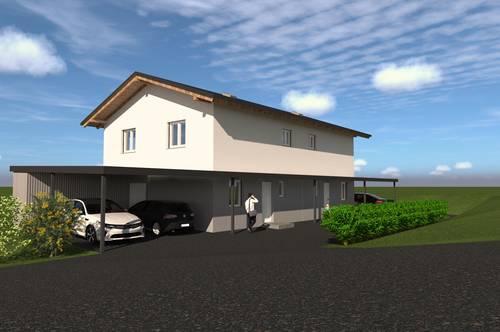 NEUBAU! Provisionsfreie Doppelhaushälfte mit sonniger Terrasse + Garten in Grafendorf