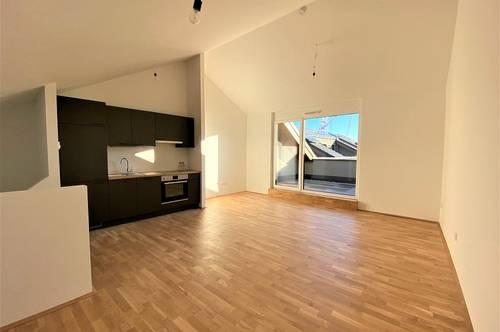 Neubau! Exklusive, hochwertige 2-Zimmer-Wohnung mit Dachterrasse in Graz Eggenberg