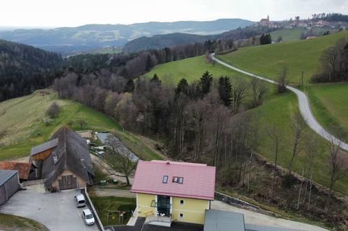 Stilvolle und seltene Mietwohnung mitten in den grünen Bergen *3 Schlafzimmer, Carport, Grünbereich*