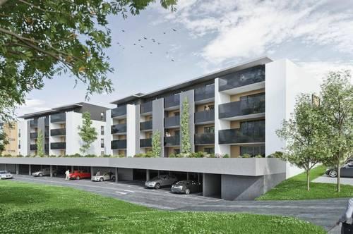 Moderne Erstbezugswohnung mit großem Balkon in ruhiger Lage in Hartberg - Baustart erfolgt!