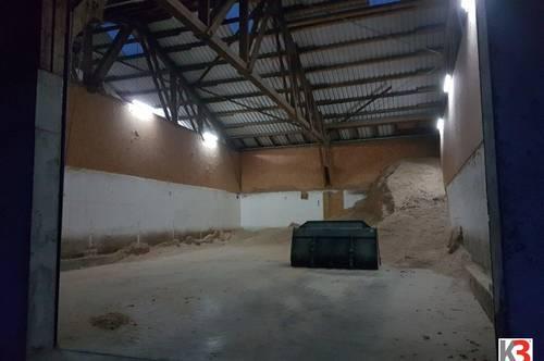 K3!!! Nähe Mauerkirchen - 260 m2 Lagerhalle mit Stromanschluß zu vermieten!!!