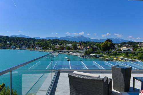 LUXUSHOTEL IN VELDEN - DIREKT AM SEE - TRAUMLAGE - TRAUMBLICK