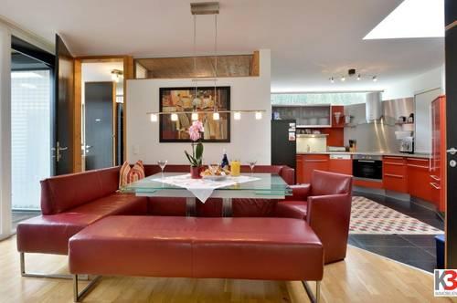 Luxus-Wellness-Penthouse in sonniger Lage mit Blick auf das Kaisergebirge!