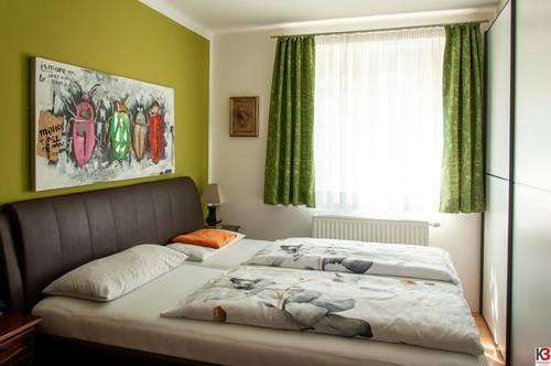K3! Schwarzach - komplett möblierte Wohnung mit einem Schlafzimmer, Wintergarten und Garage zu vermieten!!!