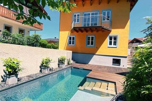 Henndorf am Wallersee I Ferienhaus unweit der Stadt Salzburg mit Pool