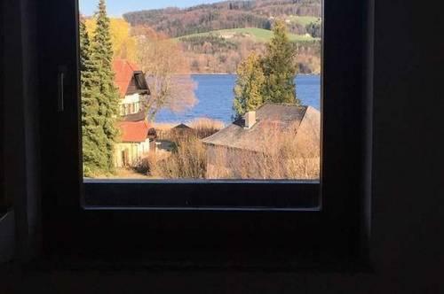 Seeham - Wohnung mit Seeblick u. Terrasse zu mieten!