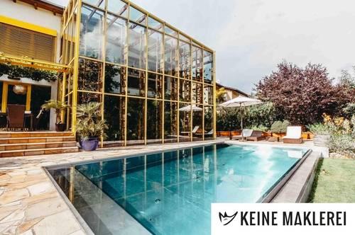 -- Traumhafte Architektenvilla im Wienerwald, fühlen Sie Leben -- provisionsfrei & ohne Makler