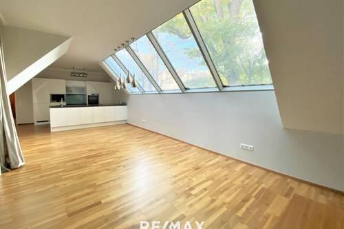 Teilmöblierte 3 ZI -Wohnung mit Dachterrasse und Parkplatz