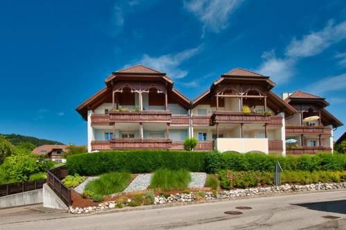 Wohnen am Attersee - wo andere Urlaub machen! Hochwertige Wohnung mit Loggia und Terrasse