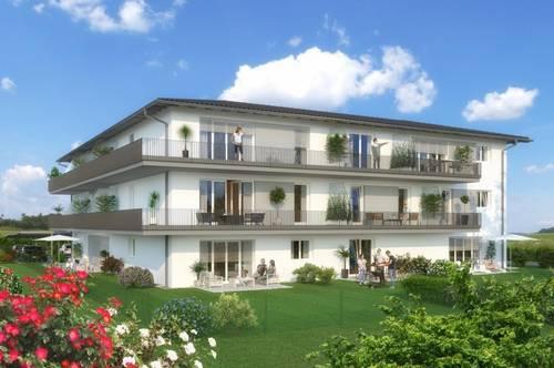 Modernes Wohnen in der Natur -  Ruhige OG-Wohnung mit Eckbalkon -  Top 6