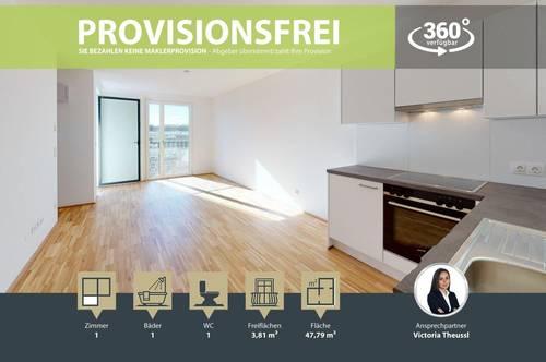 NEUBAU | ERSTBEZUG | 2 Zimmer | neue Einbauküche | Loggia | 3.OG | Top LW68