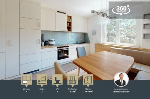 tolle 3-4 Zimmer mit süd/west ausgerichteter Loggia | extra Küche | 2017 hochwertig saniert | Ober St. Veit