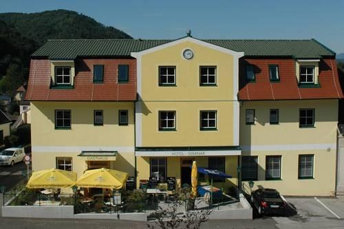 21 Zimmer Seminar Hotel 2008 saniert nur 45 Min. südl.(70KM) von WIEN