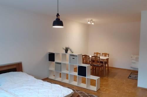 Sehr ruhige Garconniere-Wohnung in Top-Zustand, Zentrum von Wels