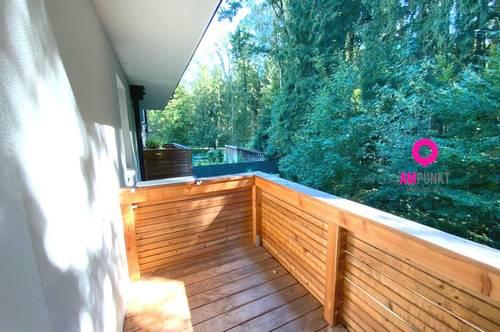 BÜRMOOS - Wohnen am Waldrand - 3-Zimmer plus Balkon und Carport