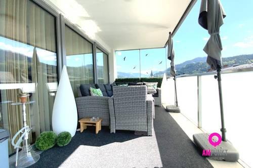 BISCHOFSHOFEN - 3-Zimmer Familienwohnung mit XXL-Balkon mitten im Zentrum
