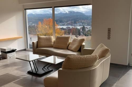 Modernes Traumhaus mit wunderschönem See- und Karawankenblick