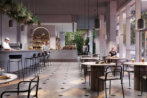 Neue Gastronomiefläche am Hauptbahnhof im THE METROPOLITAN