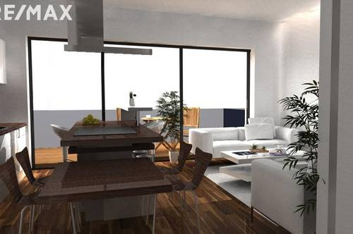 Prachtvoll Wohnen auf zwei Ebenen | Balkon und  60m2  Eigengarten