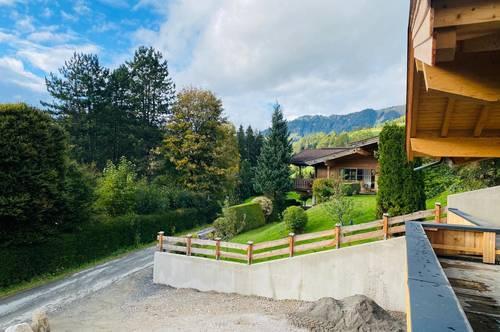 Elegantes Chalet mit sensationellem Blick in die umliegende Bergwelt