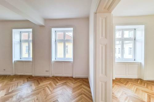 ++ ERSTBEZUG in MARIAHILFER Bestlage ++ perfekt-geschnittene 4-Zimmer Wohnung im Alt-Wien Flair