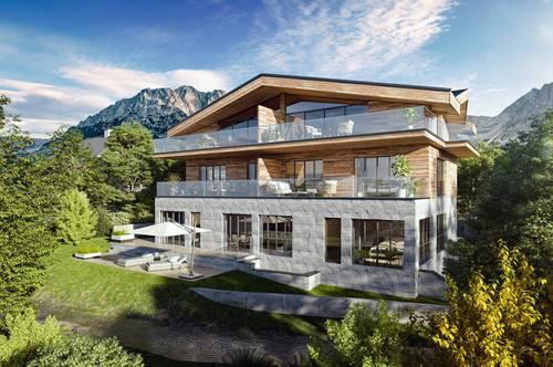 Neubau - Exklusives Chalet in Going / Prama mit nur 3 Wohnungen. Maisonette Wohnung - 206m² und hochwertig möbliert.