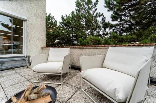 Bezaubernde Dachgeschosswohnung mit Terrasse in Hofruhelage