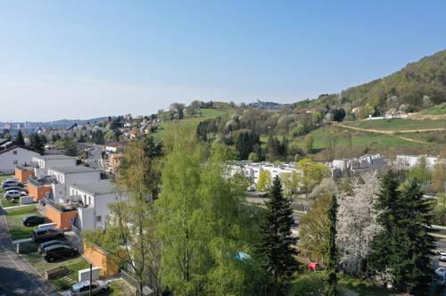 Sonnige Wohnung im Grünen + Garten mit Pöstlingbergblick - provisionsfrei