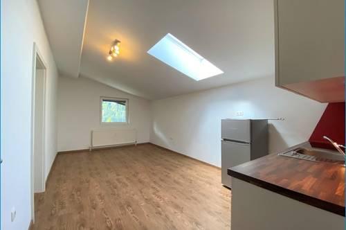 Dachgeschoß-Wohnung mit Balkon