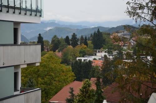 Tolle Aussicht mit Grünumgebung, Balkonwohnung provisionsfrei, Waltendorf.