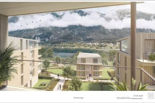 """Österreichs digitalstes Resort: """"Luxury Lake Suites"""" - Premium Resort Pressegger See - Nassfeld! 2- Zimmer Dachterrassen Suite mit ca. 27 qm sonniger Terrasse und atemberaubenden Ausblick!!"""