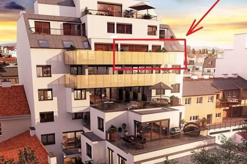 ERSTBEZUG, U1, hochwertig ausgestattet, 3 Zimmer, Dachgeschoss, 67,44m² + 18,68m² Terrasse