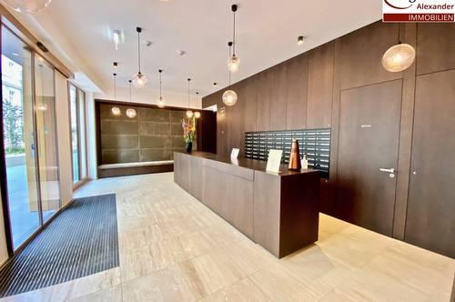 Erstbezug-Concierge Service im Haus- Luxuriöses Wohnen-Parkmöglichkeiten sowie zentrale Vernetzung an den Öffentlichen Verkehr!