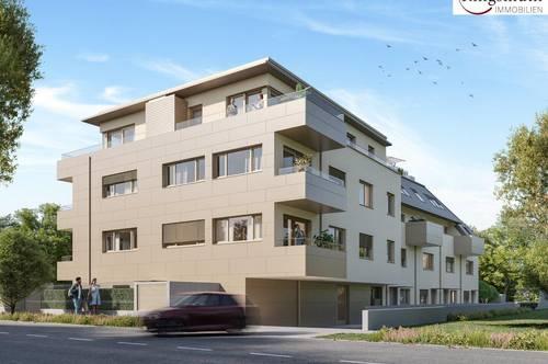 Provisionsfrei! Anlage! ERSTBEZUG - schlüsselfertig - Mittagssonne am Balkon - exzellente Raumaufteilung - Tiefgarage