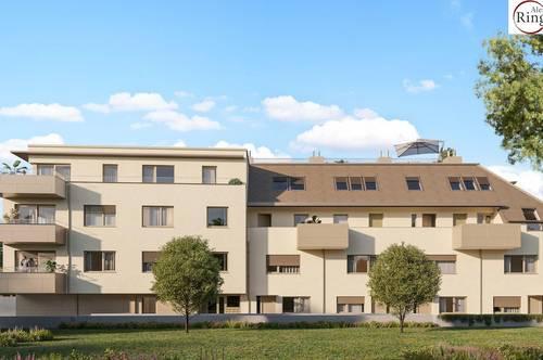 Provisionsfrei - ERSTBEZUG - schlüsselfertig - Mittagssonne am Balkon - exzellente Raumaufteilung - Tiefgarage