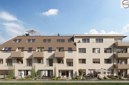 Maisonette Gartenwohnung - schlüsselfertig - Provisionsfrei - Vorstadt Idylle - Tiefgaragenstellplatz