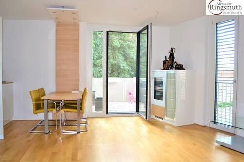 Exklusive 3-ZI-Wohnung mit ruhiger Sonnenterrasse! Luxuriöse Küche inkludiert!