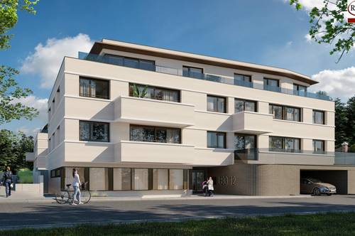 Stillvoll Leben - Provisionsfrei - Neubauprojekt mit sonnigen Südbalkon - Schlüsselfertig - Tiefgarage