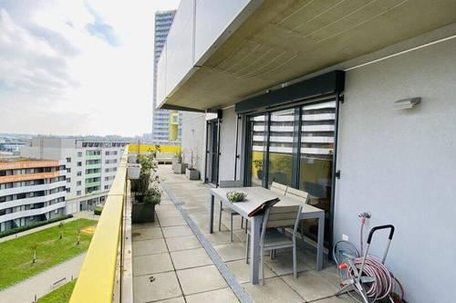 TERRASSENTRAUM   U1: Super 4 Zimmer Wohnung mit RIESIGER Terrasse und WEITBLICK
