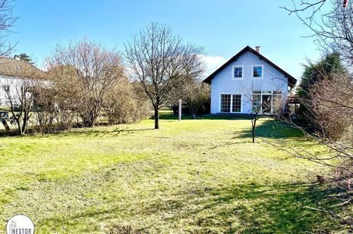 SCHNELL SEIN: Großzügiges Haus mit Garten im 22. Bezirk!