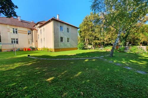 Wohnung mit grossem Gartenanteil