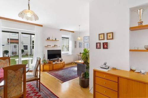 Überzeugende Wohnqualität nahe Wiener Stadtgrenze - Barrierefreie 2-Zimmer Wohnung mit Garten und Garage inklusive!