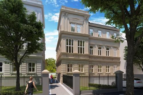 Ideal für Anleger - Neu errichtete 2-Zimmer Wohnung mit Altbauflair und Garten