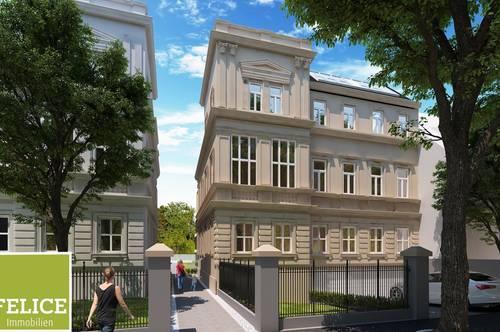 Exklusives Neubauprojekt nahe Mödlinger Altstadt - Grosszügige 5-Zi-Wohnung mit Altbauflair und Westterrasse