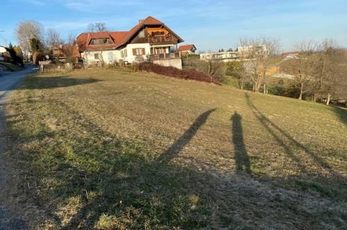 Attraktive Bauparzelle, ruhig und zentral gelegen in Lannach